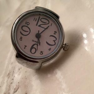 Women's ring watch